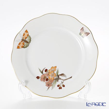 ヘレンド ヴィクトリア・グランデ VICTMC11 20517-0-00 プレート 19cm オレンジ(アップルフラワー-リンゴの花-)
