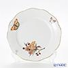 ヘレンド ヴィクトリア・グランデ VICTMC11 20517-0-00プレート 19cm オレンジ(アップルフラワー-リンゴの花-)
