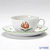 アウガルテン(AUGARTEN) ウィンナーフラワー(5089D) トルコユリティーカップ&ソーサー(S) 0.2L(001)
