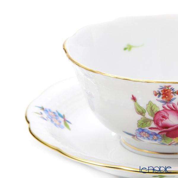 Herend 'Bouquet Cornelia' HBC 00734-0-00 ea Cup (Low) & Saucer