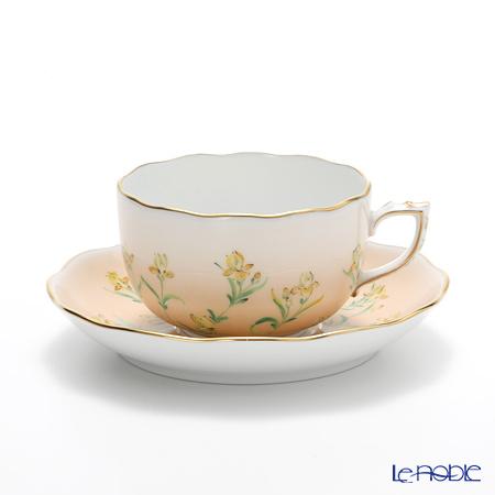 ヘレンド アイリス オレンジ IRIS-H 20724-0-00 ティーカップ&ソーサー 200cc