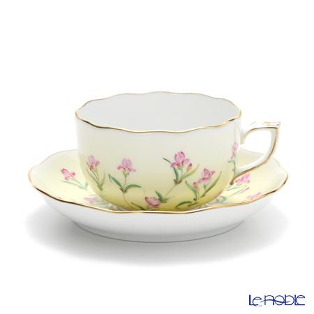 ヘレンド アイリス イエロー IRIS-J 20724-0-00 ティーカップ&ソーサー 200cc