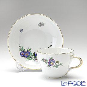 マイセン(Meissen) インドの花と鳥 465110/00582コーヒーカップ&ソーサー 200cc