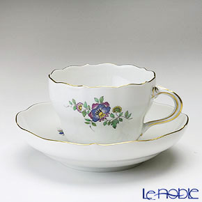 マイセン(Meissen) インドの花と鳥 465110/00582 コーヒーカップ&ソーサー 200cc