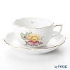Herend 'Liechtenstein Grand' LTN 00724-0-00 Tea Cup & Saucer 200ml