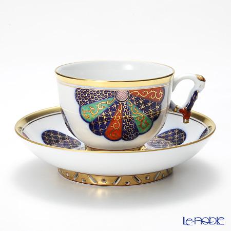 ヘレンド シノワズリ (中国趣味) CIM 菊・伊万里 003364-0-21 マンダリン ラージカップ&ソーサー