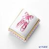 Herend JH-32 06100-0-00 'Ballet Shoes' Pink Rectangular shaped Bonbonniere 5×4xH3.3cm