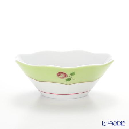 ヘレンド プティットローズ MX3 00902-0-00 スモールボウル 9.5cm(グリーン)