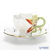 ヘレンド チューリップ TULIP-3 04746-0-00ティーカップ&ソーサー レッド