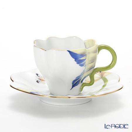 ヘレンド チューリップ TULIP-4 04746-0-00ティーカップ&ソーサー ブルー