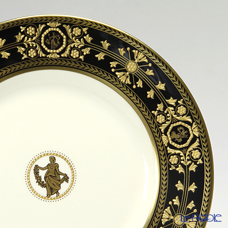 Wedgwood & Bentley 'Astbury Black' Plate 18cm