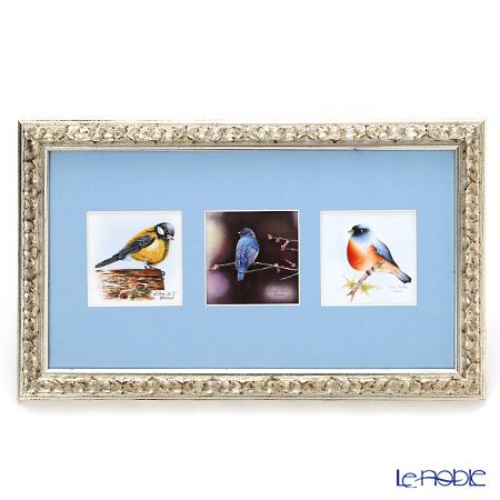 ヘレンド MIX3-2 08222-0-91 陶板(バード) 23×38cm