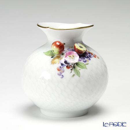マイセン(Meissen) 波の戯れ 719391/50145 花瓶 リンゴ 9cm