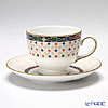 Wedgwood 'Harlequin' Leigh Tea Cup & Saucer 200ml