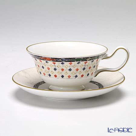 ウェッジウッド(Wedgwood) ハーレークイーン ティーカップ&ソーサー(ピオニー)