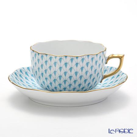 ヘレンド エカイユ ターコイズ VTQ 20724-0-00 ティーカップ&ソーサー 200cc