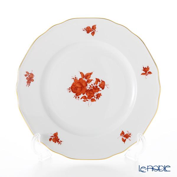 アウガルテン(AUGARTEN) マリアテレジア オレンジ(5098A) バラ プレート 20cm