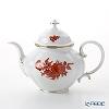 Augarten 'Maria Theresia - Rose' Orange [Mozart shape] Tea Pot 1200ml
