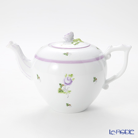 Herend Vienna rose lilac 00606-0-09 Teapot (rose) 800 cc