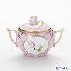 Herend 'Memorial Rose' Pink VRH-MFP 20472-0-09 Covered Sugar Pot (Rose knob) 200ml