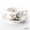 Herend Rothchild bird RO-7 00724-0-00 Tea Cup & Saucer 200 cc