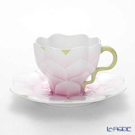 ヘレンド CAME1 04740-0-00 ティーカップ&ソーサー 200cc(ピンク)