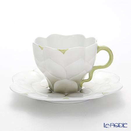 ヘレンド CAME3 04740-0-00 ティーカップ&ソーサー 200cc(グリーン)