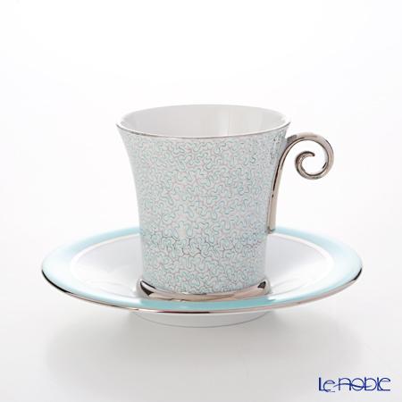 ヘレンド ONYXTQ-PT 04912-0-00 モカカップ&ソーサー(ターコイズ)
