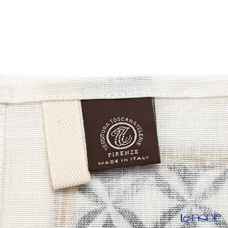 Tessitura Toscana Telerie社 キッチンタオル リネン100%リモージュ ブラック 50×70cm