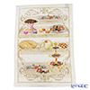 Tessitura Toscana Telerie, kitchen towel linen 100% Sacher zuccotto 50 x 70 cm
