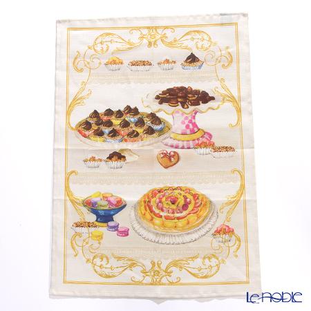 Tessitura Toscana Telerie社 キッチンタオル リネン100% ザッハー ボンボン 50×70cm