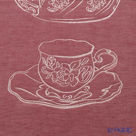 Tessitura Toscana Telerie社 キッチンタオル コットンジャガード100%ヴェトリーナ ポット&カップ 57×77cm