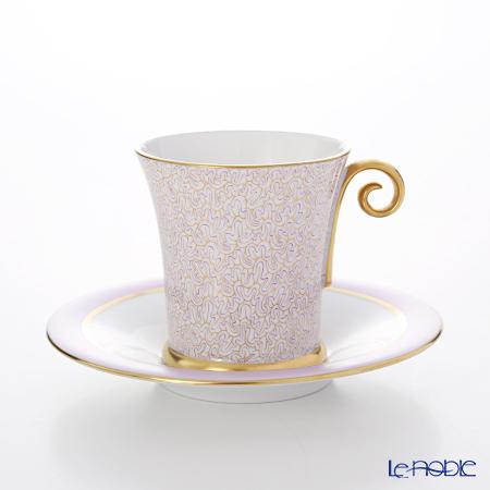 ヘレンド ONYXL 04912-0-00 モカカップ&ソーサー(ライラック)