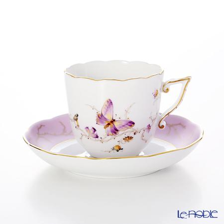 ヘレンド エデン EDENS-1 20706-0-00 コーヒーカップ&ソーサー 160cc(チョウ)