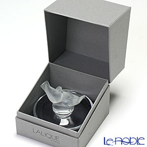 Lalique 'Duex Colombes (Bird Couple)' 1070600 Ring Tray 6cm