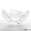 Lalique 'Compiegne (Leaf)' 1122100 Oval Bowl 19.5x14.5cm
