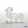 Lalique 'Dragon' Clear 1213200 Animal Sculpture / Figurine 7.5cm