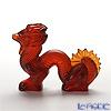 Lalique 'Dragon' Red 1214000 Sculpture / Figurine Sculpture / Figurine H7.5cm