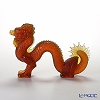 Lalique Dragon 19 Cm figurine (Amber) 1214600