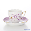 Herend Eden EDENS-2 20706-0-00 Coffee Cup & Saucer 160 cc (Ribbon)