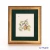 ヘレンド MID-10 08193-0-00陶板(リンゴと昆虫) 4.5×3.5cm