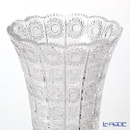 Bohemia Crystal 'PK500' 80838 Footed Trumpet Vase H30.5cm