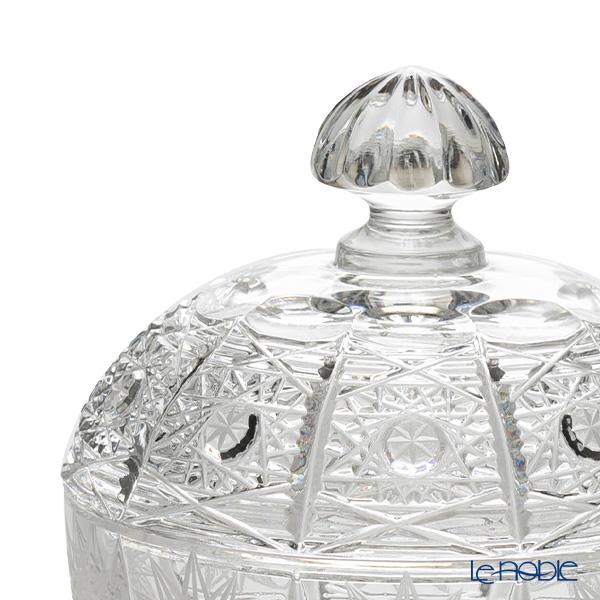 Bohemia Crystal 'PK500' 51A19 Covered Round Box 11cm