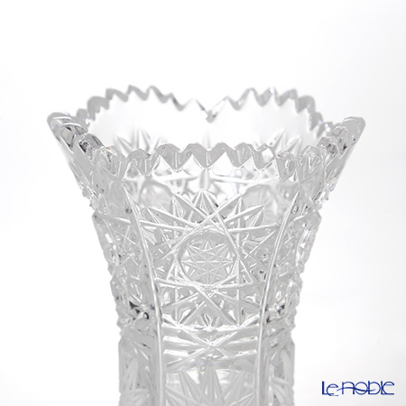 Bohemia Crystal 'PK500' 80029 Trumpet Vase H8cm