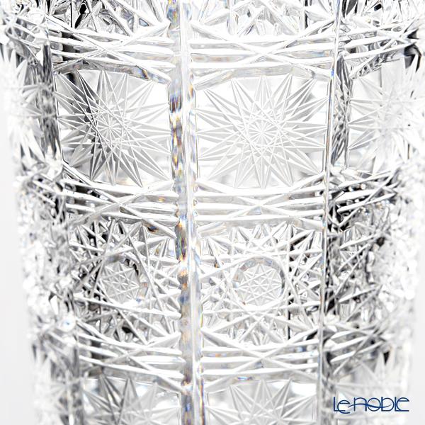 Bohemia Crystal 'PK500' 88348 Trumpet Vase H19cm