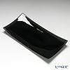 Modern Bohemia 'Classic' Black Rectangular Plate 32x16cm