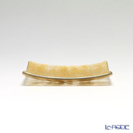Modern Bohemia 'Classic' Gold Square Plate 16x16cm