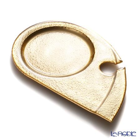 モダンボヘミア ゴッチャ パーティープレート 22.5×15cm パールゴールド