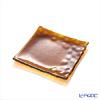 Modern Bohemian Kamen square plate Topaz 14.5 x 14.5 cm/6