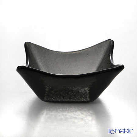 Modern Bohemia 'Ridde' Black Square Bowl 9.5x9.5cm